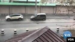 """Москва в режиме """"самоизоляции""""."""