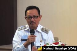 Wakil Wali Kota Yogyakarta, Heroe Poerwadi, dalam tangkapan layar. (Foto: VOA/Nurhadi Sucahyo)