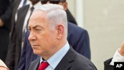Le Premier ministre israélien Benjamin Netanyahu, 6 juillet 2017.