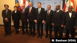Новые члены Совбеза ООН. Нью-Йорк. 8 января 2018 г.