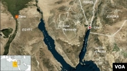 Meesha weerarka lagu dilay askarta Masar uu ka dhacay ee Sinai.