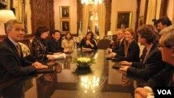 El canciller argentino se reúne este viernes con el secretario general de Naciones Unidas, Ban Ki-Moon.