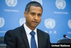 BM Raportörü Ahmed Shaheed