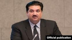 """خرم دستگیر خان وضعیت روابط بین پاکستان و امریکا را به مثابه """"صلح سرد"""" توصیف کرد."""