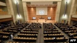Geneva ၿမိဳ႕မွာ က်င္းပတဲ့ ၄၄ ႀကိမ္ေျမာက္ ကုလလူ႔အခြင့္အေရးေကာင္စီအစည္းအေ၀း ျမင္ကြင္း။