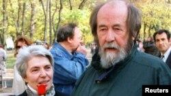 Наталья и Александр Солженицыны