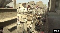 کراچی میں پانچ مارچ کو زمین بوس ہونے والی عمارت