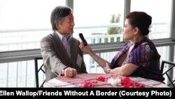 ທ່ານ Kenro Izu ຜູ້ກໍ່ຕັ້ງອົງການ Friends Without A Border