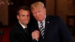 Trump နဲ႔ Macron အီရန္အေရးေဆြးေႏြးေပမဲ့ တိက်တဲ့အေျဖမထြက္