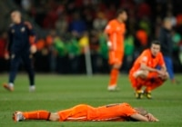 Netherlands hopes to avenge their 2010 loss against Spain.