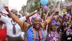 Marcha contra a violência (foto de arquivo)