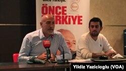 CHP Eski İzmir Milletvekili ve Genel Başkan Kemal Kılıçdaroğlu'nun Başdanışmanı Erdal Aksünger, partide sandık sonuçlarını takip etmek amacıyla oluşturulan bilgi işlem sistemi hakkında Amerika'nın Sesi'ne bilgi verdi.