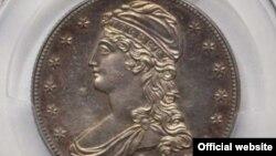 سکه نیم دلاری ۱۸۰ ساله ممکن است به قیمت نیم میلیون دلار فروخته شود