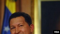 Presiden Venezuela Hugo Chavez