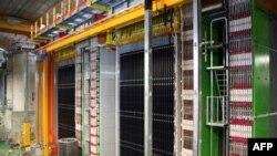 Детектор OPERA в подземной лаборатории Гран-Сассо (Италия), где проводились эксперименты с нейтрино