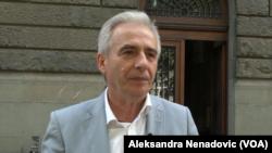 Predsednik Odbora za Kosovo i Metohiju Milovan Drecun, Foto: VOA