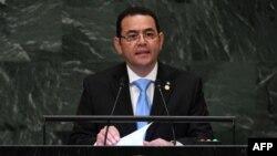 Presiden Guatemala Jimmy Morales dijadwalkan berkunjung ke Washington hari Senin (15/7).