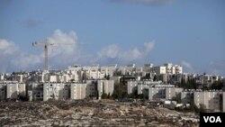 Permukiman Yahudi Gilo di Yerusalem, yang dibangun di atas tanah Palestina yang direbut Israel dalam perang tahun 1967.