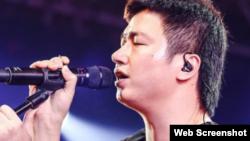中国独立音乐人李志 (推特图片)