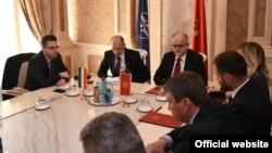 Crnogorski ministar inostranih poslova Srđan Darmanović sa predstavnicima diplomatskog kora (gov.me)