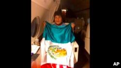 Prezidan egzile Bolivi a, Evo Morales. Foto: 11 novanm 2019.