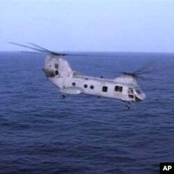 امریکی ہیلی کاپٹروں کی پاکستان آمد کا سلسلہ جاری