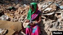 عکس: آرشیف مقامات در هند منازل مسکونی ساحه فقیر نشین را ویران کردند