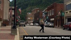 Downtown Hazard, Ky.