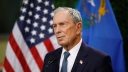 VOA: Exalcalde de Nueva York Michael Bloomberg anuncia candidatura presidencial