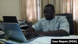 Brice Wilfried Bicaba, docteur burkinabè, à Ouagadougou, le 21 février 2017. (VOA/Issa Napon)
