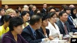 2010년 9월 당시 열렸던 북한인권 청문회