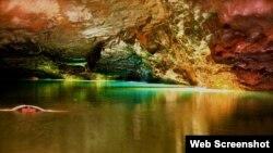 Tennessi ştatında yeraltı göl