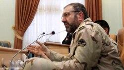 حسین ذوالفقاری، فرمانده مرزبانی جمهوری اسلامی در کنفرانس خبری