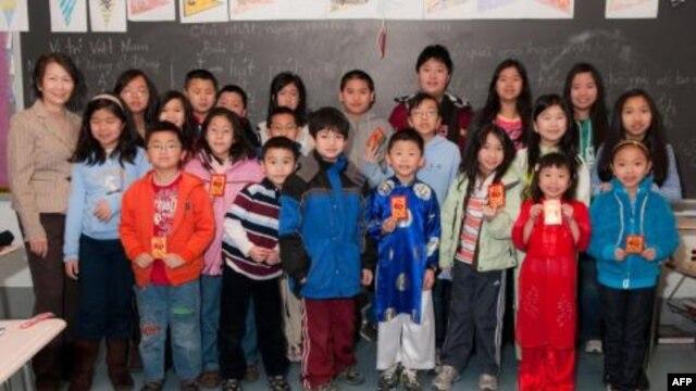 Một trường dạy tiếng Việt ở Hoa Kỳ