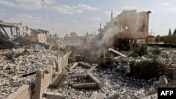 Naučni centar u blizini Damaska, pogođen u akciji