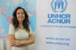 María Jesús Vega dialoga sobre los refugiados