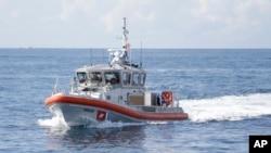Una patrulla marítima estadounidense advirtió la presencia de la embarcación con mexicanos intentando llegar a EE.UU.