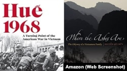 """Hai trong số các cuốn sách bị Hải quan Đà Nẵng ttịch thu vì lý do """"nhạy cảm chính trị""""."""