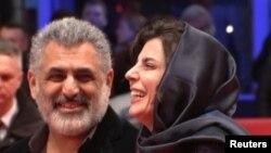 لیلا حاتمی و مانی حقیقی در جشنواره فیلم برلین