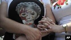 Ukraine's Yulia Tymoshenko.