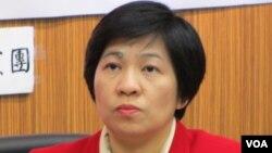 台联党立委 黄文玲(美国之音 张永泰拍摄)