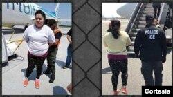 Se trata deElda Cuadra-Torres, de 29 años, quien habría llegado a EE.UU. en julio de 2016 y es solicitada en su país por asesinatoagravado e intento de asesinato agravado. Foto: Cortesía - ICE.
