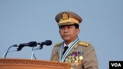 Jenderal Senior Myanmar, Min Aung Hlaing (Foto: dok).