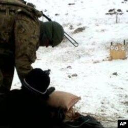 Marzak qishlog'ida tayyorgarlikdan o'tayotgan askarlar