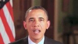Prezident Obama hesabat məruzəsi ilə çıxış edəcək