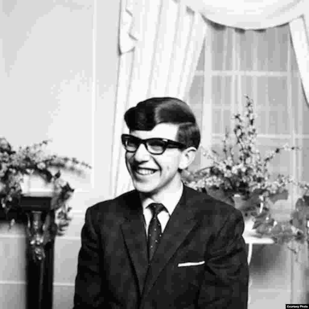 Portrait of a young Stephen Hawking, May 17, 1963. (Howard Grey)