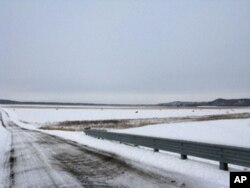 阿莫林电力公司计划在这片河滩上开一个占地160公顷的煤灰掩埋场
