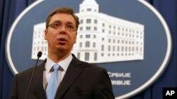 Premijer Srbije Aleksandar Vučić