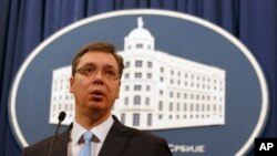Srpski premijer Aleksandar Vučić (arhivski snimak)