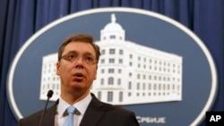 Premijer Srbije Aleksandar Vučić (arhivski snimak)